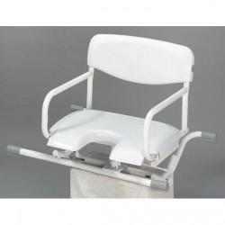 seggiolino con seduta girevole per vasca da bagno alixe invacare