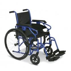 Sedia a Rotelle/Carrozzina standard da autospinta con telaio pieghevole stabilizzante