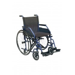 Sedia a Rotelle/Carrozzina standard ad autospinta con telaio pieghevole Easy
