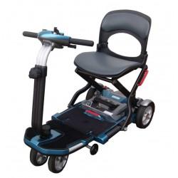 Scooter elettrico S19 Brio pieghevole colore blu Wimed