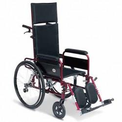 noleggio carrozzine con schienale reclinabile